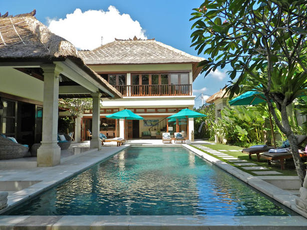 Tropical Balinese Theme Villa