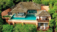 Two Bedroom Pool Oceanview Villa - Alluring 2 Bedroom Pool Villa in Phuket