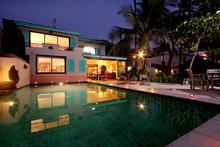 Kalim Beach House (Green) - Exclusive 3 Bedroom Beachfront Villa