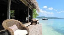 Master Villa - Delightful 2-Bedroom Beachfront Hut - 2