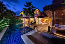 Baan Buaa - 3 Bedroom Exotic Wooden Themed Villa