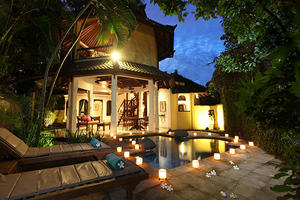 Villa Lalu Three Bedrooms - Three bedrooms Balinese Villa