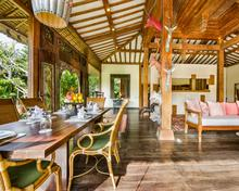 Villa Desa Roro Estate - Traditional Luxurious and Rustic Wooden 7 BR Villa in Tranquil Canggu - 5