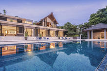 Baan Maprao - Peaceful and Private Villa Located over over Phang Nga Bay