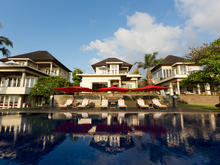Sanur Residence 3 Villas x 3BR - Contemporary 9 BR Tropical Architecture Residence