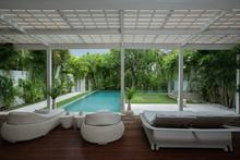 Frontside Villa 3 Bedroom - 3 BR Beautiful Villa Covered with Tropical Vibe - 3