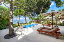 Villa Pantai Candidasa - Exquisite 2 Bedroomed Beachfront Villa