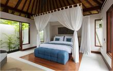 Villa Chintamani Bedroom Two - Luxury One Bedrom Plunge Pool Beachfront Villa - 4