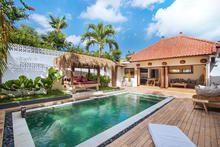 Villa Makasih - Pleasingly Stylish 2 Bedroom Villa With Natural Balinese Design in Seminyak - 4